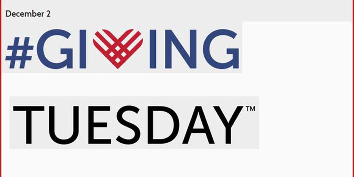 Giving Tuesday is here