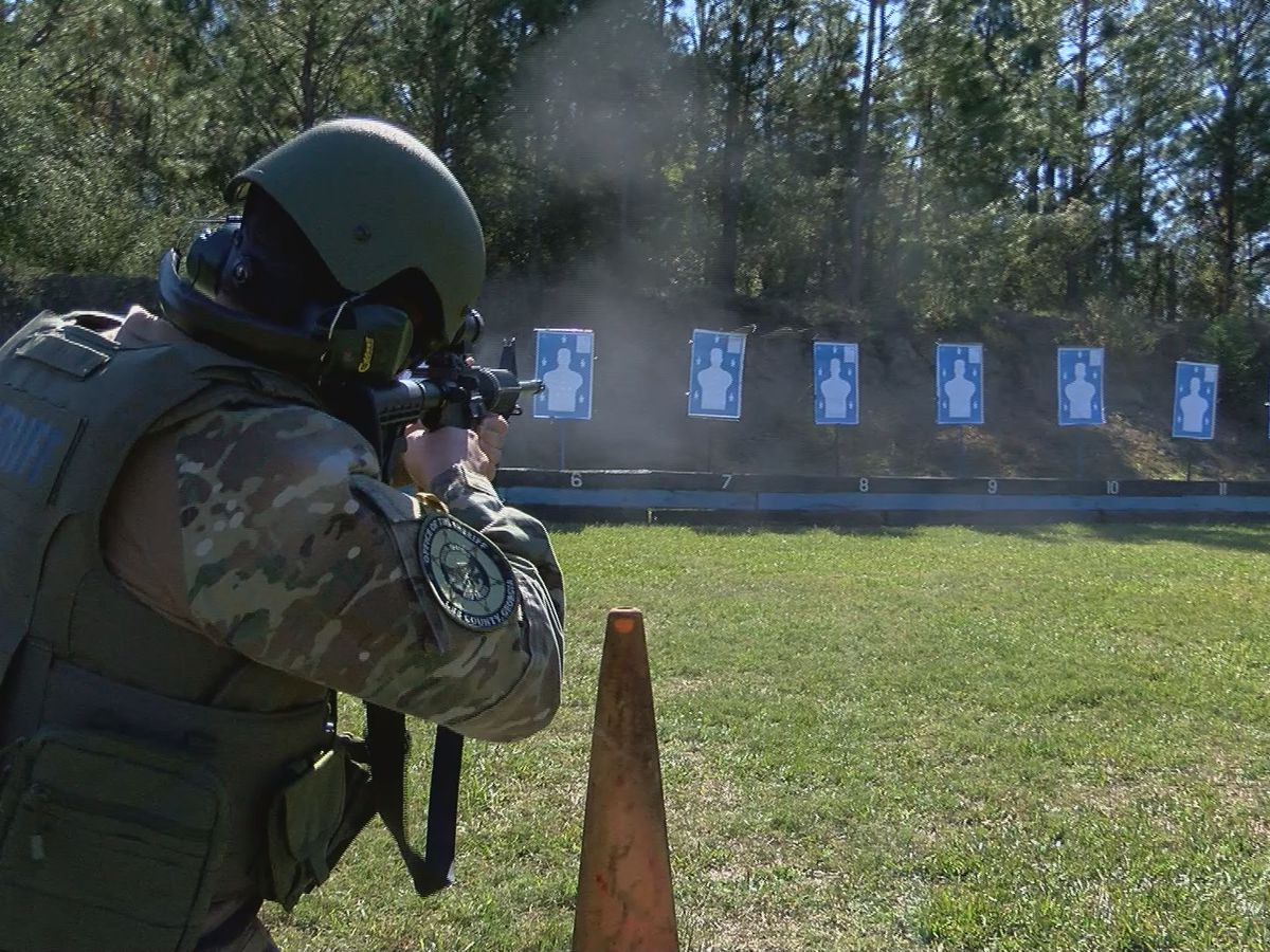 Lee County Sheriff's Office continue SWAT training