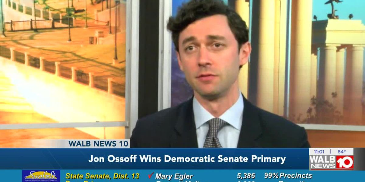 Voters pick Democratic candidate to face Perdue in Ga. Senate seat race