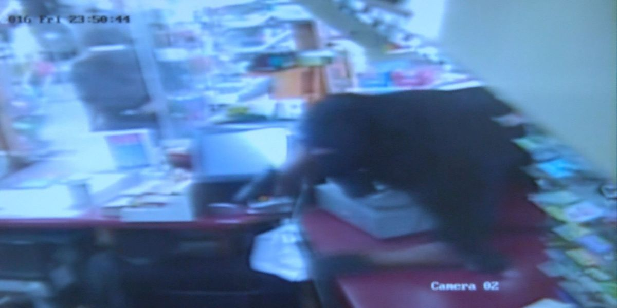 Surveillance video shows violent robbery at Albany store