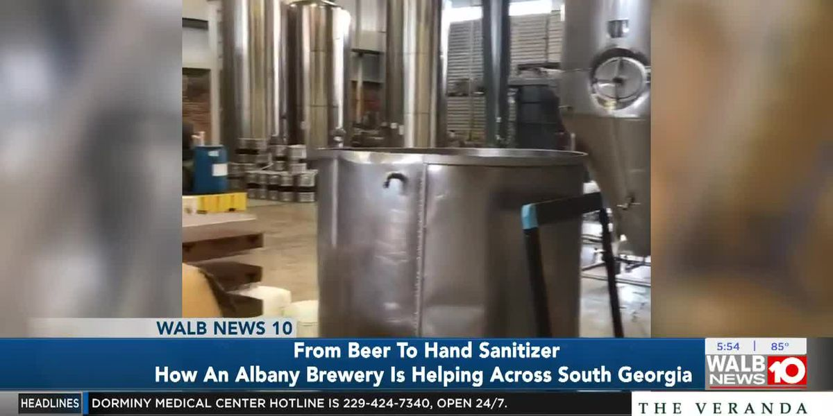 Good News: Albany Brewery helps South Georgians