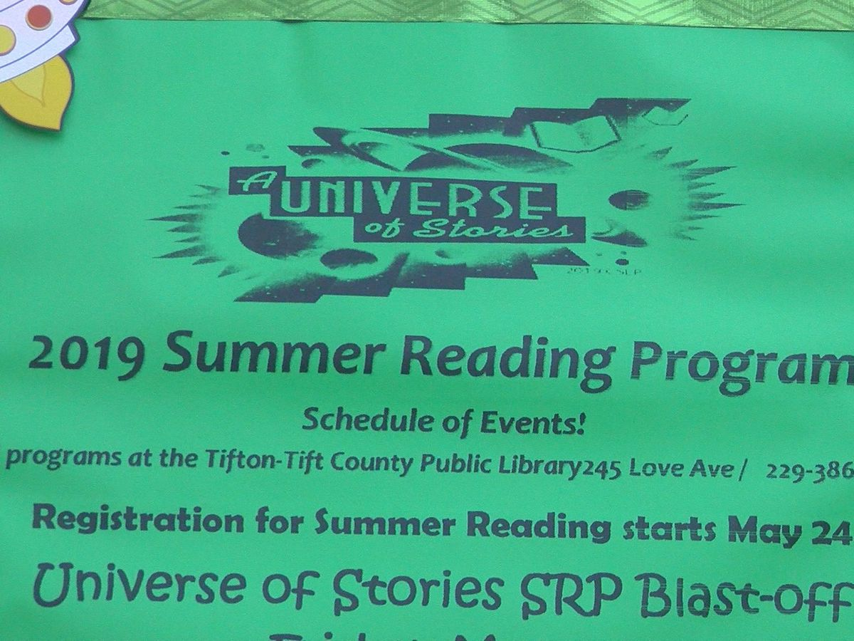 Tifton-Tift County Public Library offers summer reading program