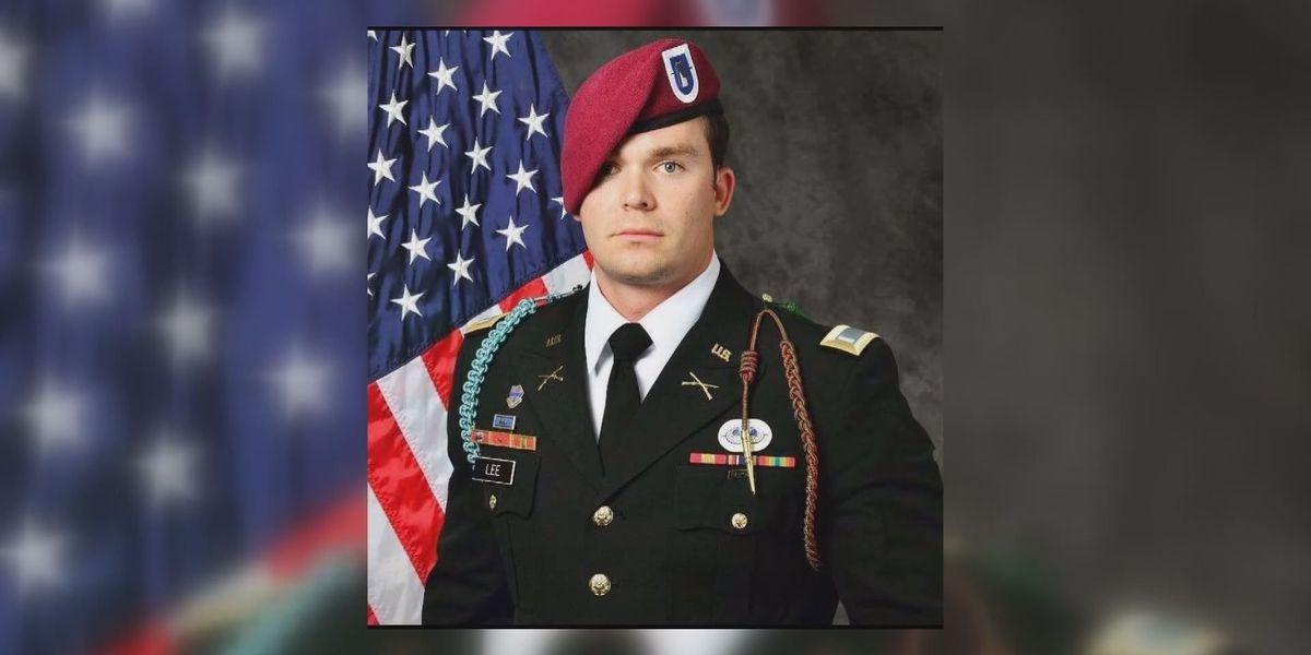 Weston Lee's football jersey retired to honor fallen hero