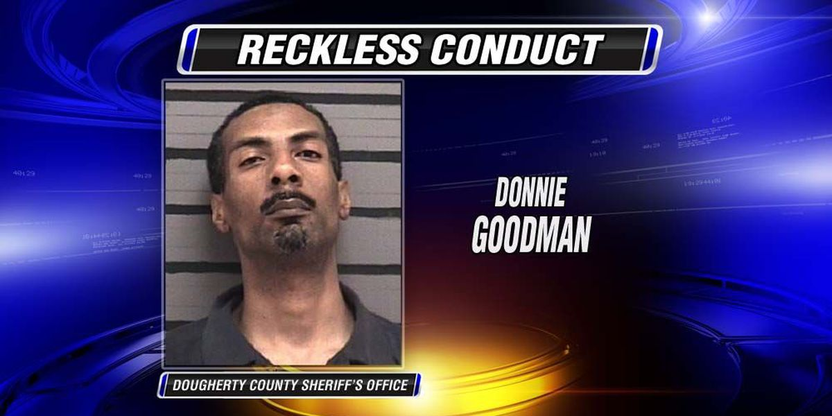 Man arrested for reckless conduct gunfire