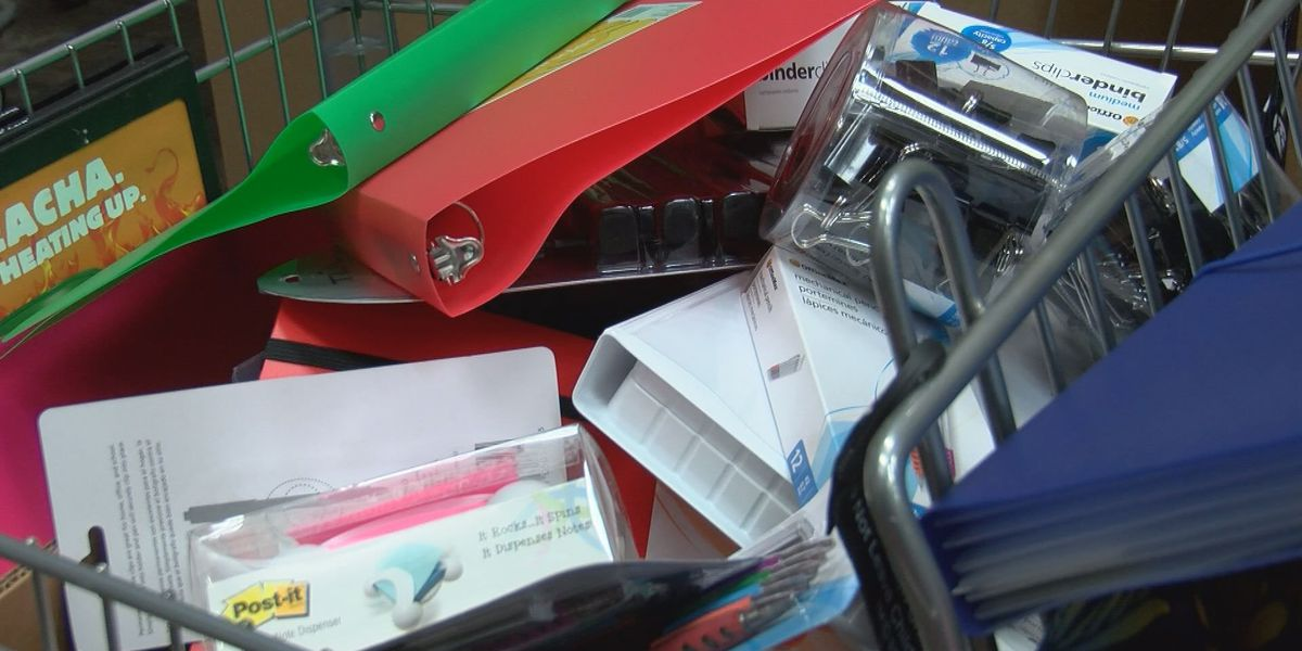 Food Bank helps teachers with school supplies