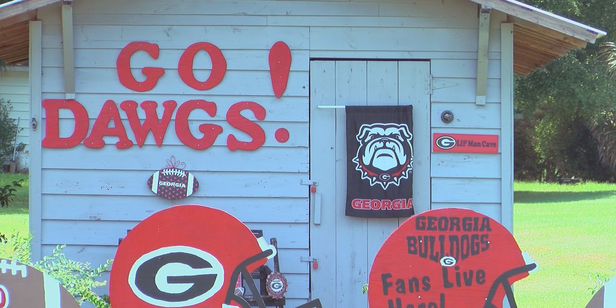 UGA super fan ready for football season
