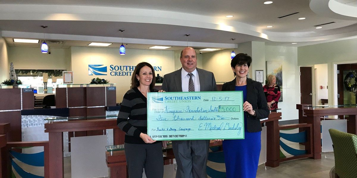 Southeastern Credit Union donates $5K to Wiregrass Technical College