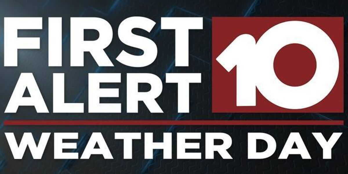 First Alert Weather Day issued for Sunday