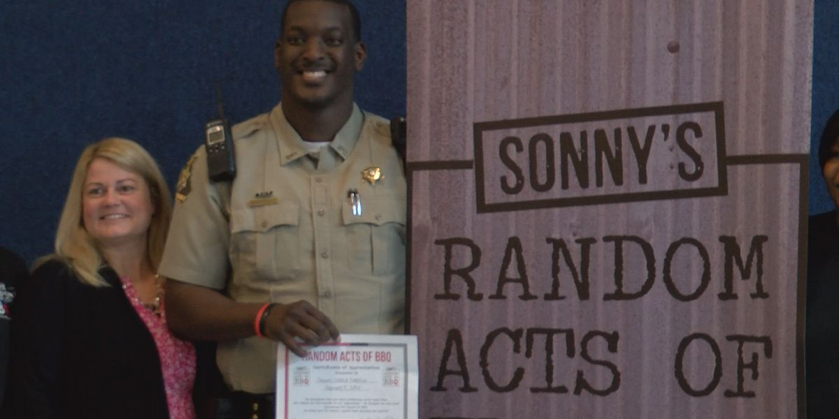 'I was totally shocked': Thomas Co. school surprises resource officer that makes difference