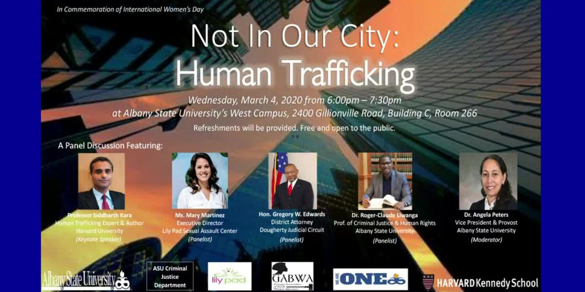 Friday - 'Not in Our City: Human Trafficking' Panel