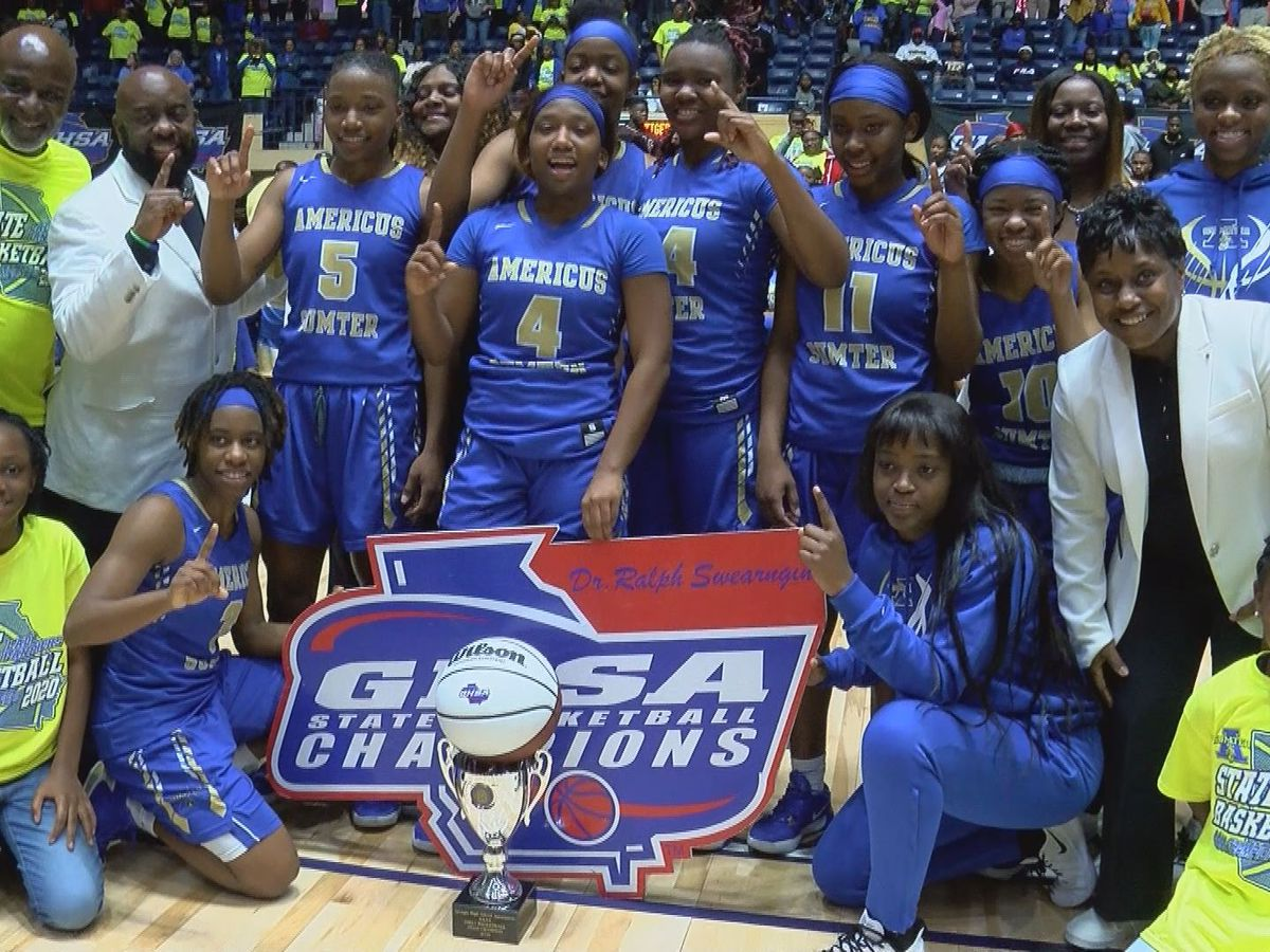 Americus-Sumter Lady Panthers win GHSA 4A State Championship