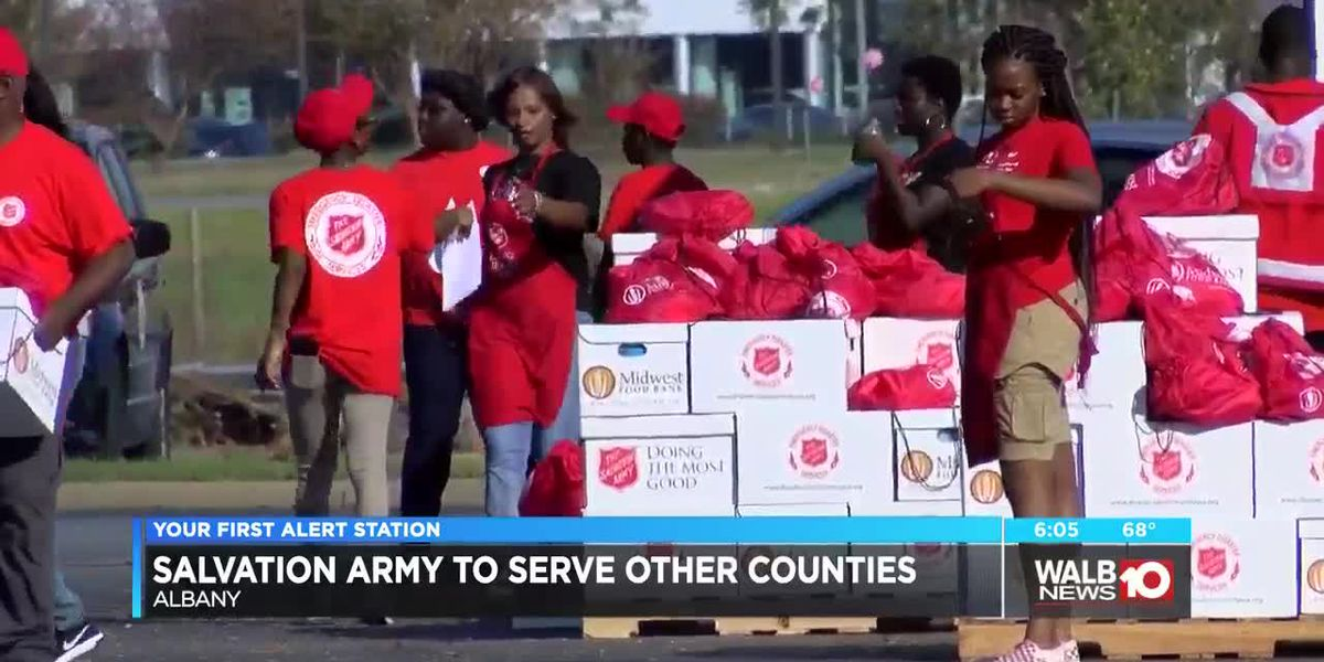 Salvation Army to serve other counties