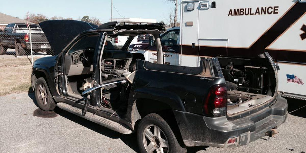 SUV cut to pieces in bizarre theft