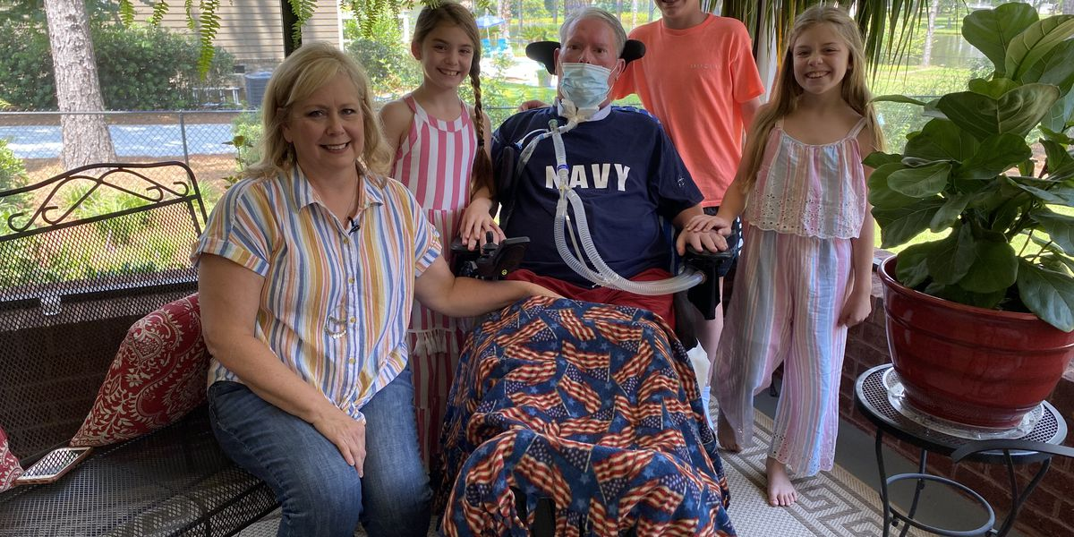 Heroes Among Us: Thomasville Navy veteran lives with service-related ALS