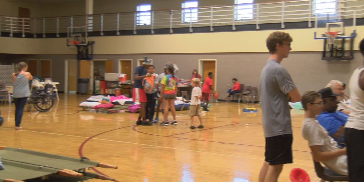 Community makes evacuees feel at home