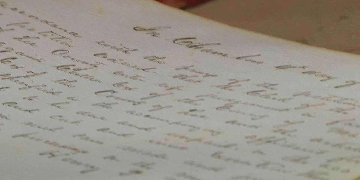 Lee Co. preserves historical documents from court house attic