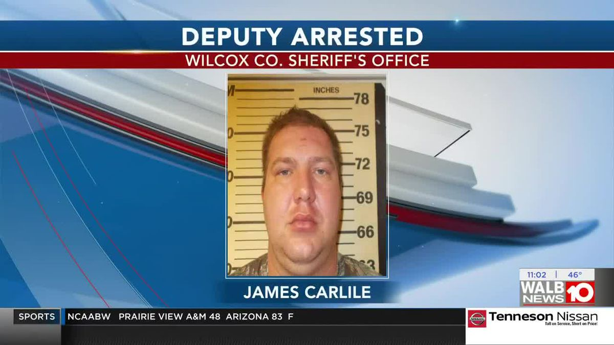 Wilcox Co. deputy arrested for violation of oath, narcotics