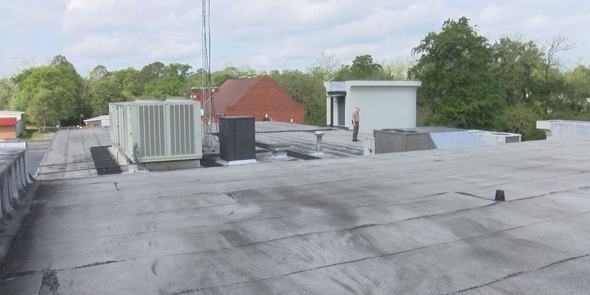 Valdosta Police Department hopes to fix leaky roof