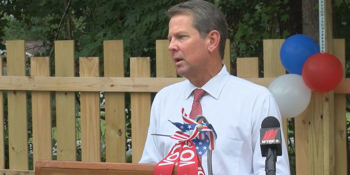 Gov. Kemp stops in Richmond Hill to discuss Ga.'s pandemic progress, economic development