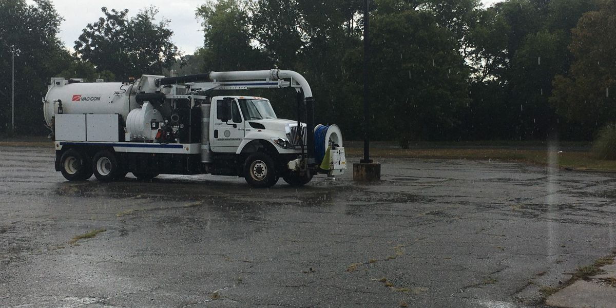 Albany crews assessing sewage overflow