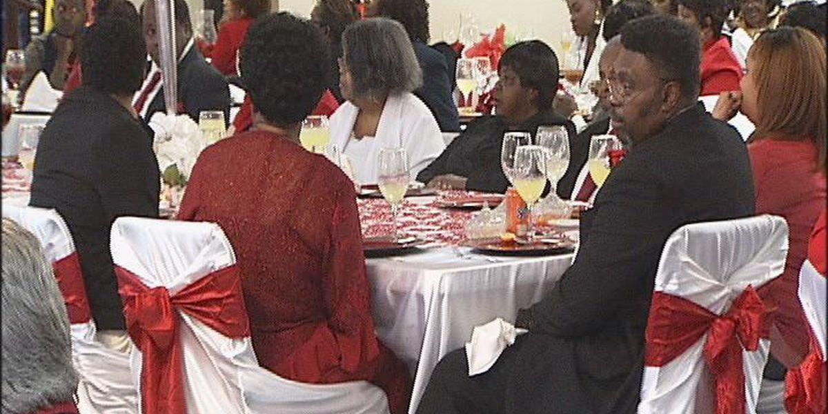 Church hosts Valentine's Day Ball for seniors