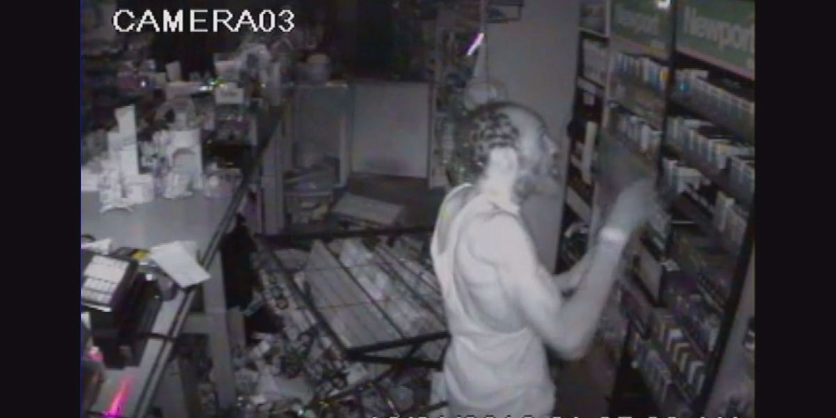 Police need help identifying cigarette thief