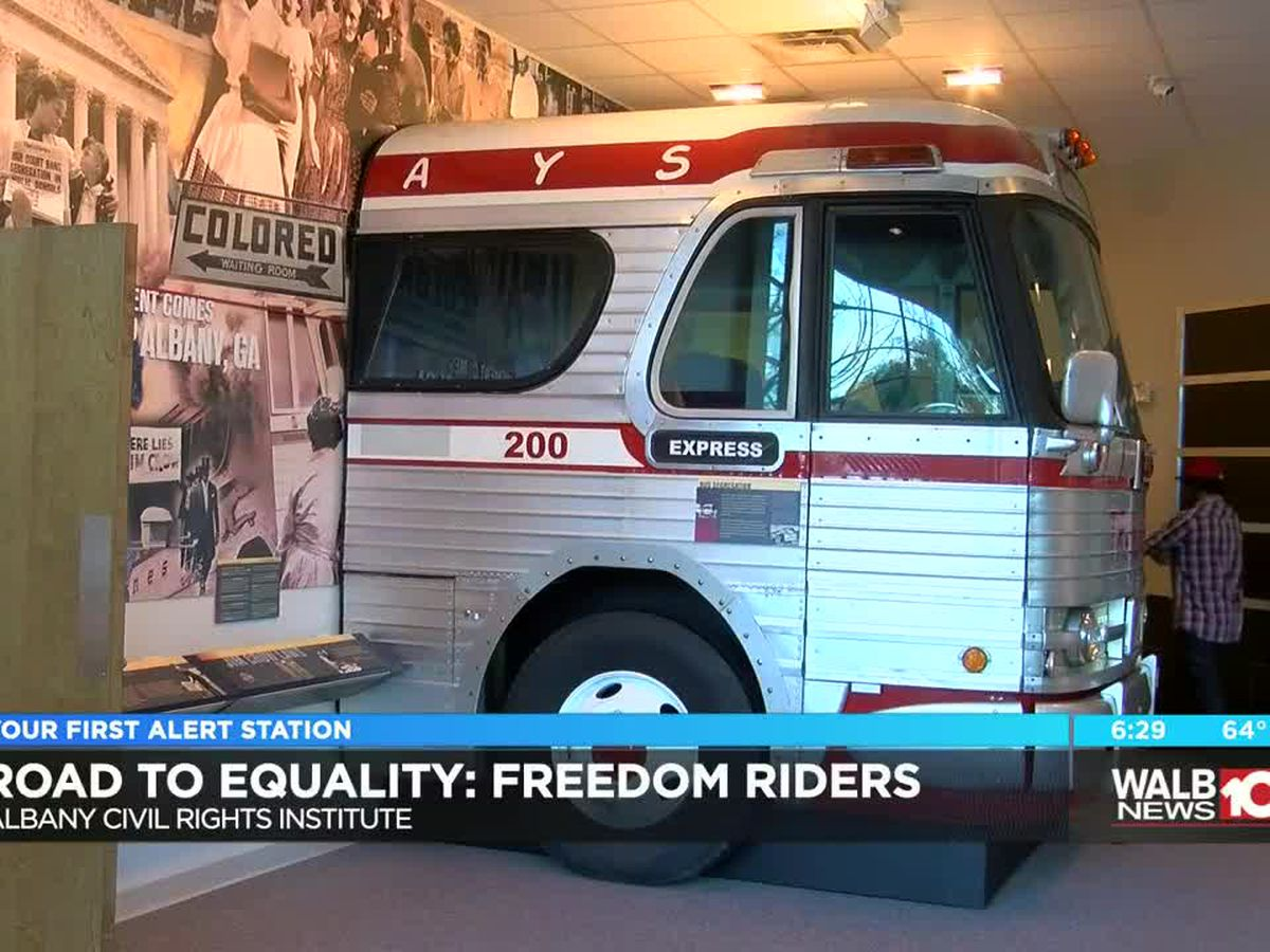 Albany Civil Rights Museum celebrate the Freedom Riders