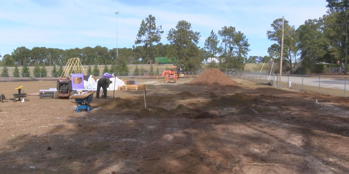 Community build day will provide new playground for Tifton school