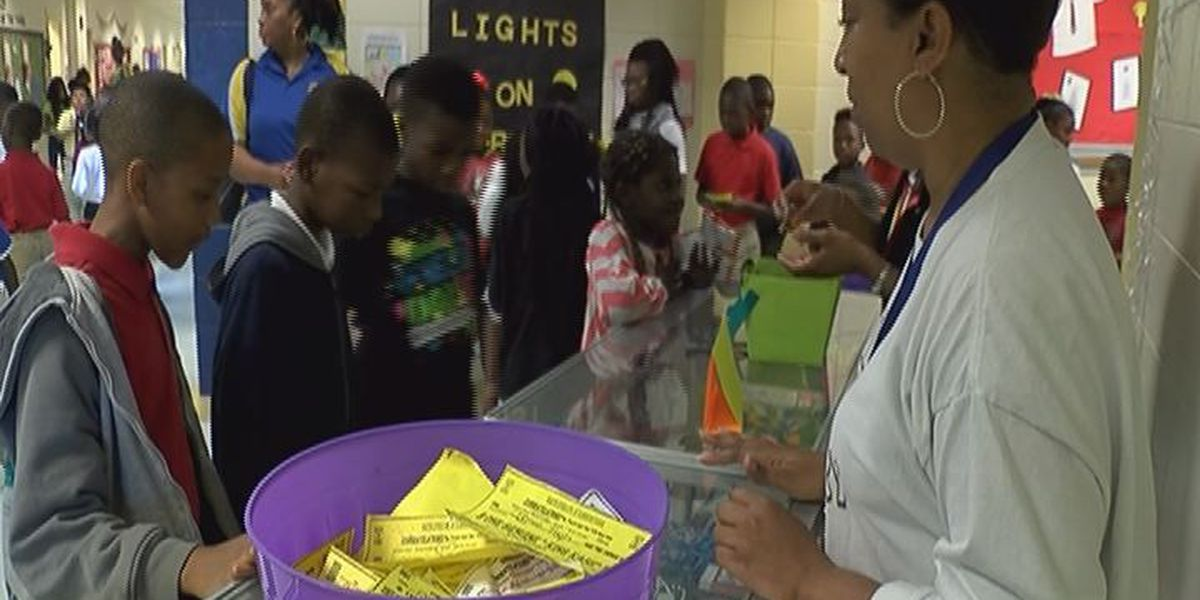 MLK Elementary motivates good behavior with student store