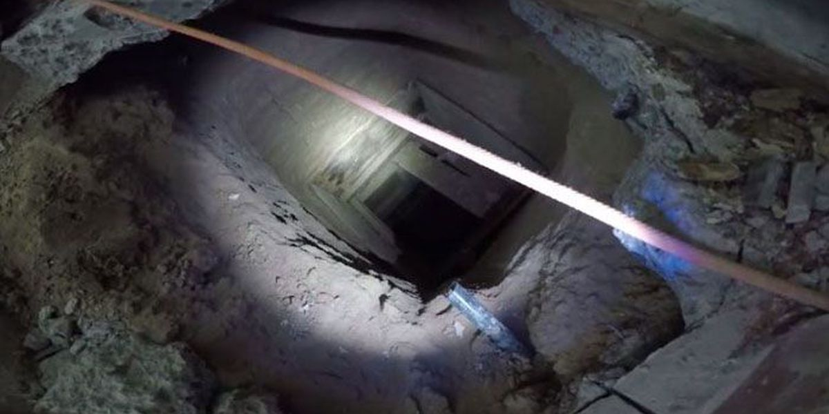 Drug tunnel to Mexico uncovered in kitchen of former KFC
