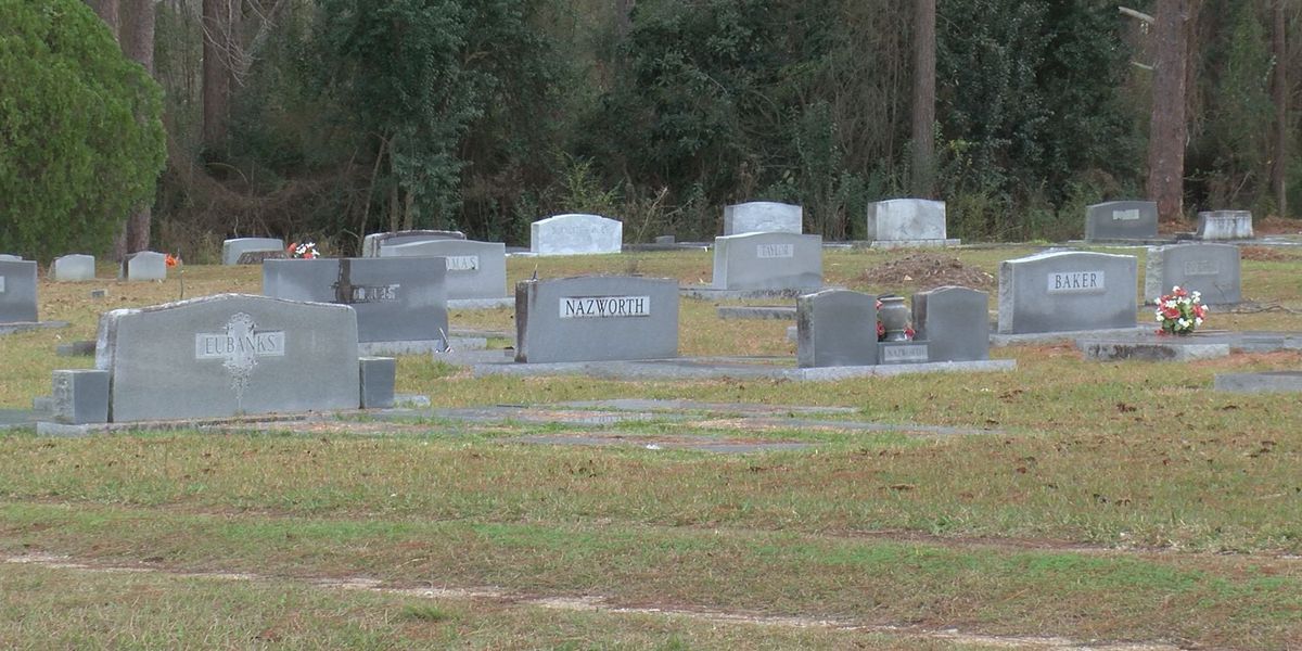 Students, residents gather to clean Pelham cemetery
