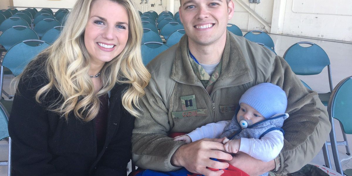 Coming Home: Moody airmen meets son for the first time