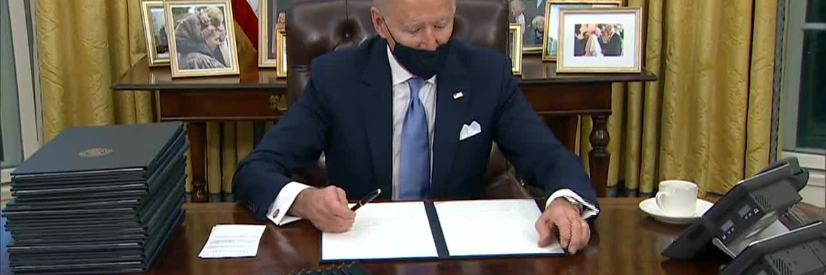 How will Biden's first day executive orders affect you?