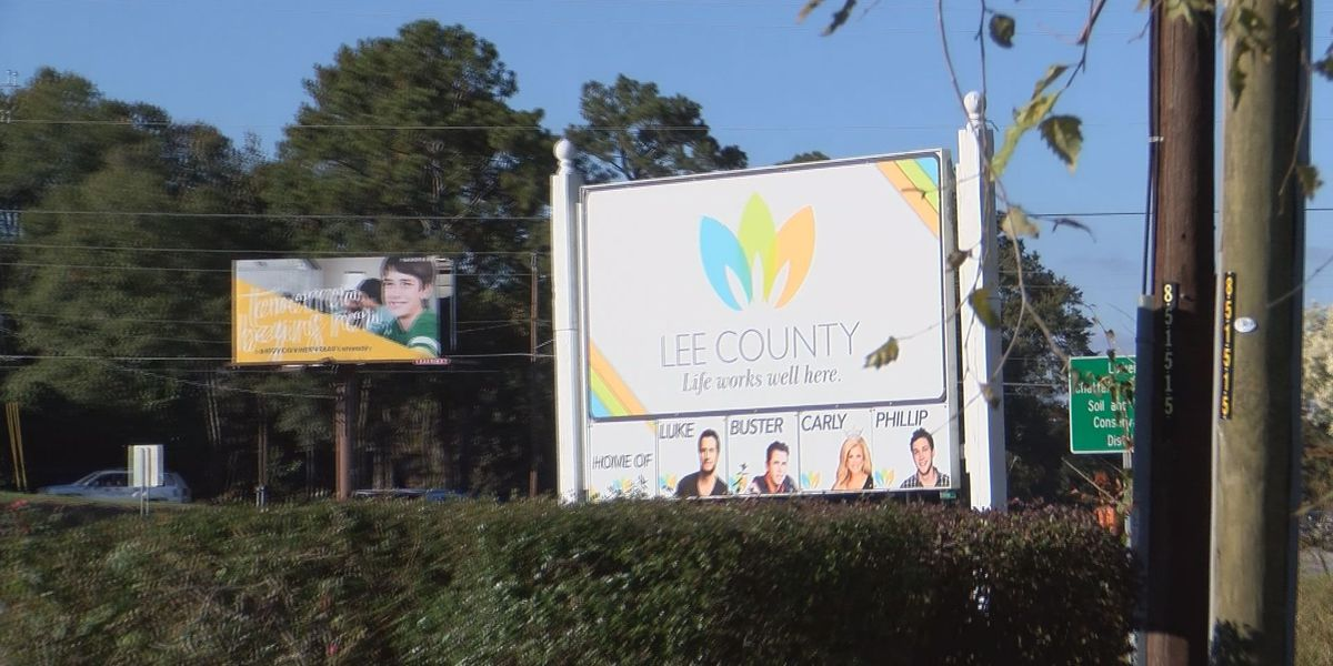 Lee Co. recognizes homegrown talent with new welcome sign
