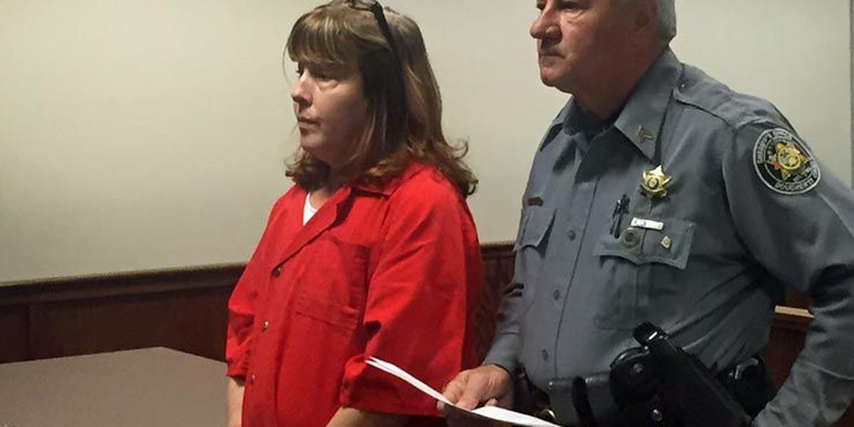 Wife accused of murdering husband makes first appearance