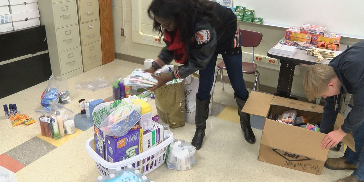 Albany High students ask for donations