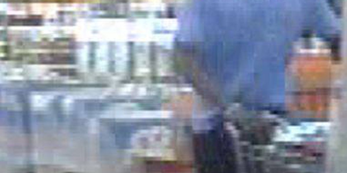 Cordele police search for Walmart theft suspect