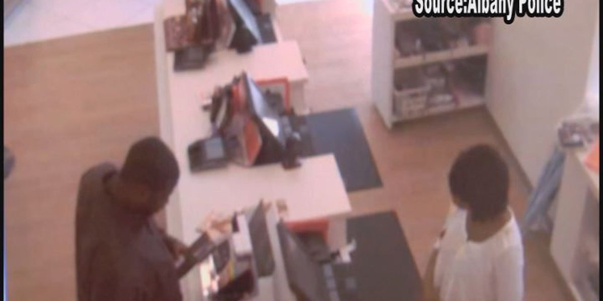 Albany and Lee Co. authorities searching for suspected credit card thief
