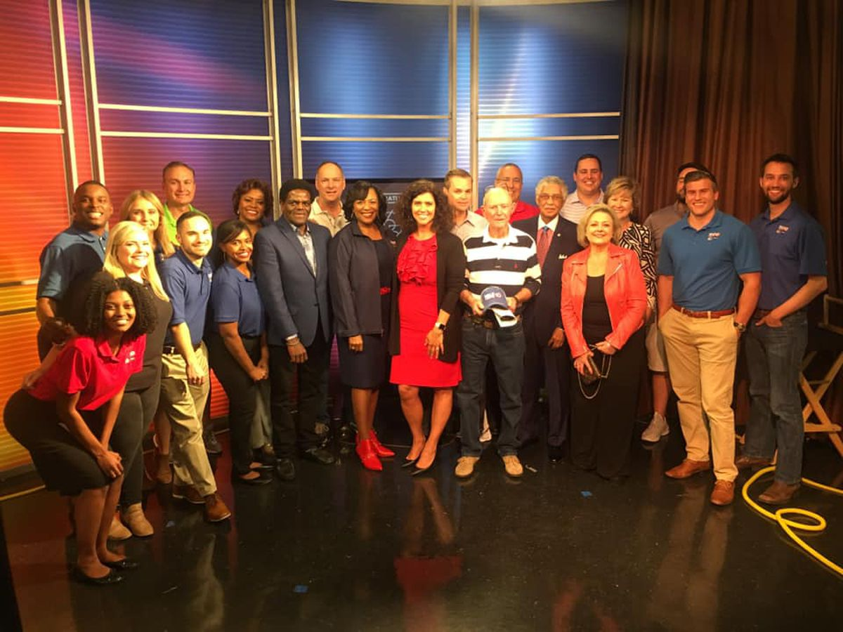 Behind the scenes of WALB's 65th Anniversary