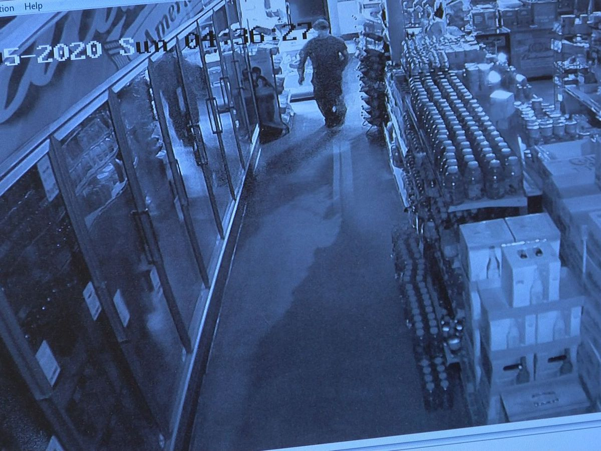 DCP: Surveillance footage shows thieves taking lottery tickets, beer from Albany food mart
