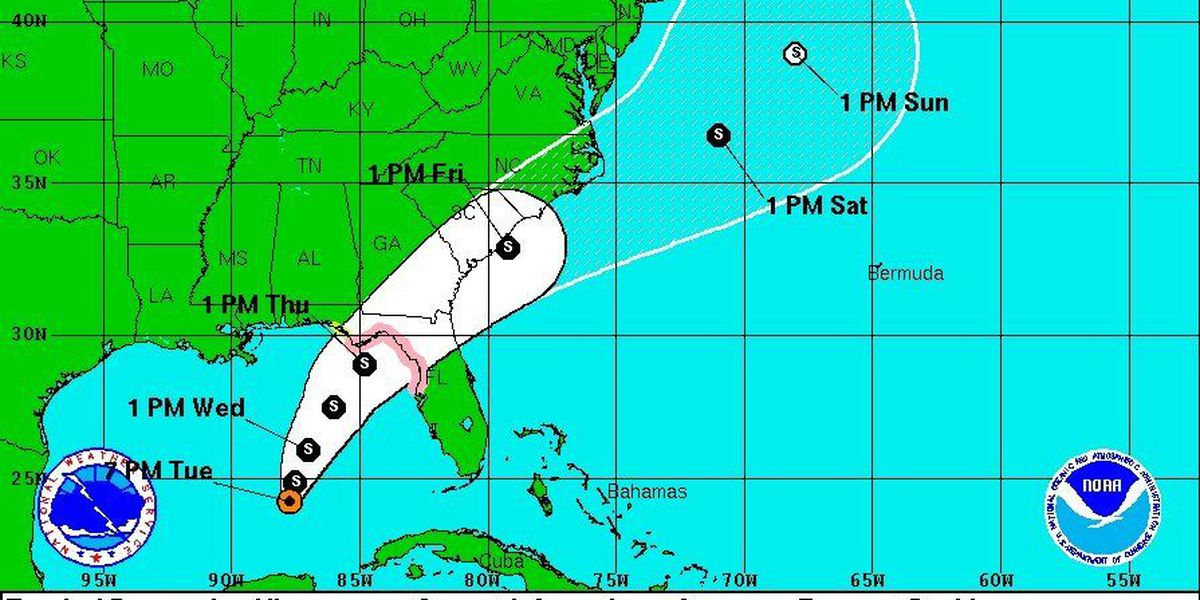 LIVE on TIG: Tropical storm to develop today