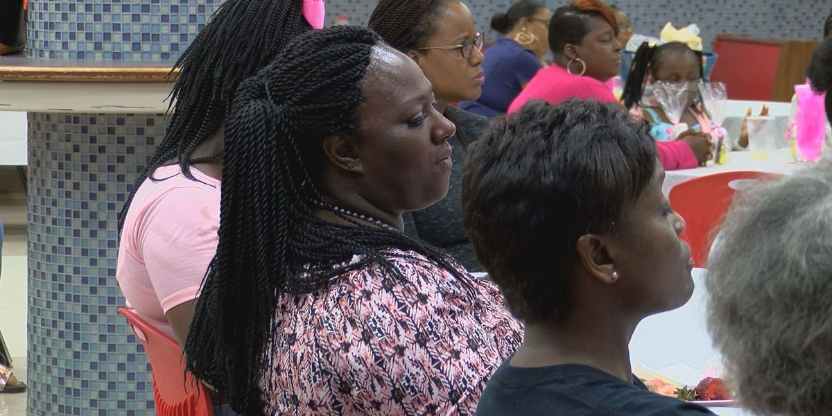 Girls Empowerment Conference motivating young high school girls