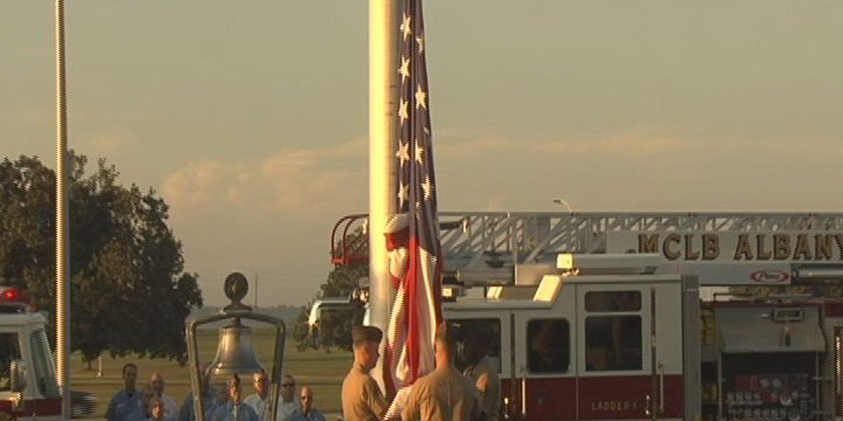 Ceremony held at MCLB Albany to honor 9/11 victims