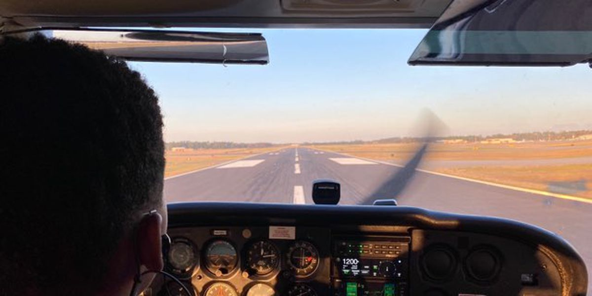 Safe and Sound: Young Pilot Spreads His Wings