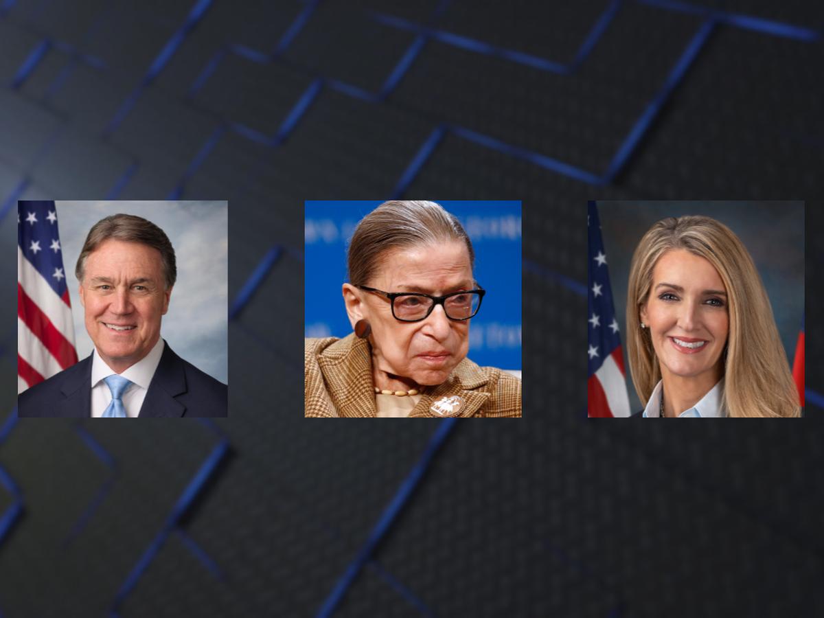 Ga. Senators Perdue and Loeffler react to death of Justice Ruth Bader Ginsburg