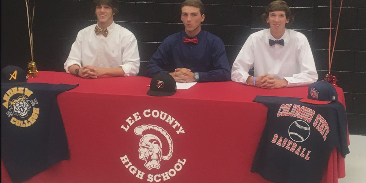 3 Lee County seniors sign, two to Andrew College