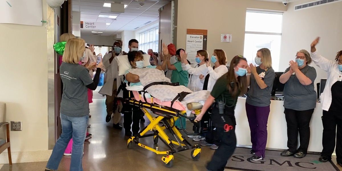 SGMC's first COVID-19 patient discharged from hospital