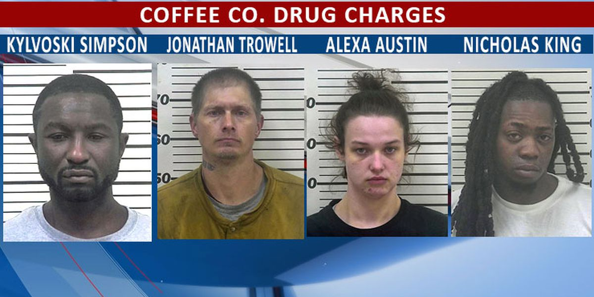 Coffee man arrested after chase; others arrested on drug charges in separate incidents