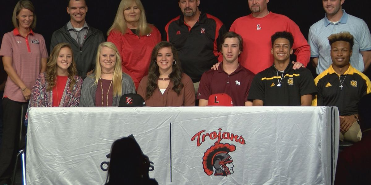 Six Lee Co. student-athletes sign NLIs