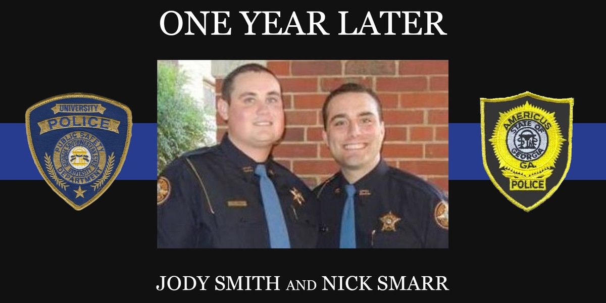 One year later: Remembering fallen officers Jody Smith and Nick Smarr